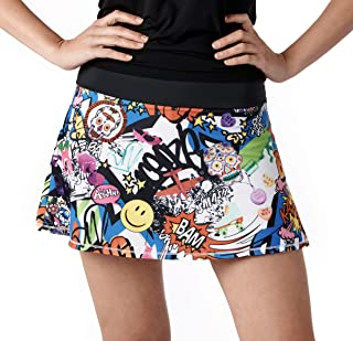 Queen of the Court Kapow! Performance Athletic Skirt | Tennis | Running | Pickle Ball Skort