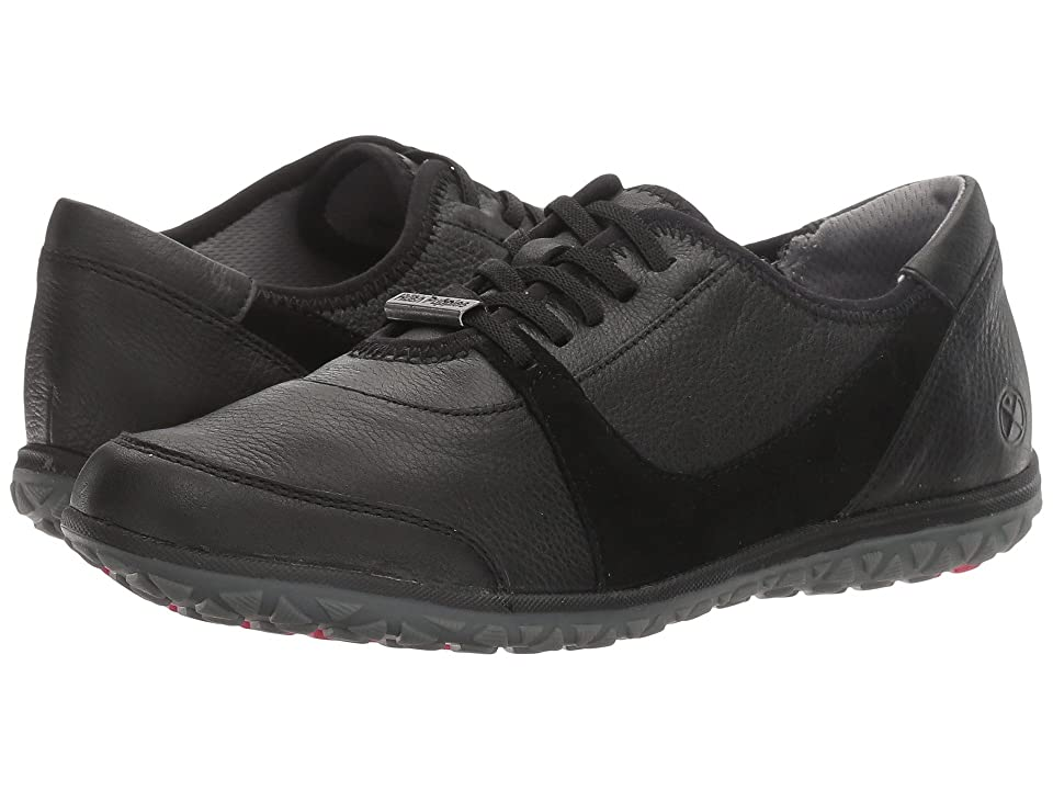 Hush Puppies Basel Audra (Black Leather/Suede) Women