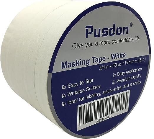 manualidades hogar 10 rollos de cinta adhesiva para pintores cinta de enmascarar para artistas escuela 25 mm x 20 m pintura