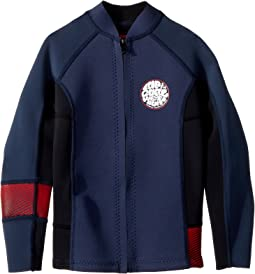 Rip Curl Kids Junior Aggrolite Long Sleeve Full-Zip Jacket (Big Kids)