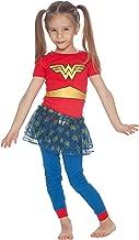 DC Comics Girls' Baby Wonder Woman 'Gold Logo Ballet Tutu' Pajama Set
