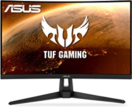 """ASUS TUF Gaming VG27WQ1B 27"""" Curved Monitor, 1440P WQHD (2560 x 1440), 165Hz (Supports 144Hz),..."""