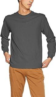 [ヘインズ] ビーフィー ロングスリーブ Tシャツ 2枚組 長袖 BEEFY-T 綿100% 肉厚生地 無地 H5186 メンズ