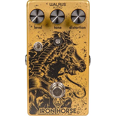Walrus Audio Iron Horse V2 LM308 Distortion Guitar Effects Pedal