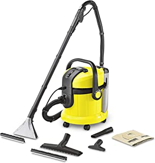 Karcher SE 4001 Multipurpose Wet and Dry Vacuum Cleaner with Carpet Cleaning Speciality, 10811350, 1 Year Brand Warranty