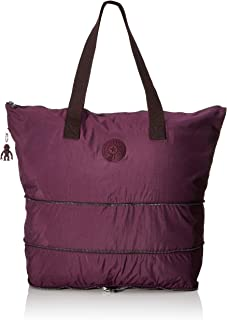 Kipling Imagine Pack, Cabas femme, Violet (Dark Plum), 57x49x18 cm (B x H T)