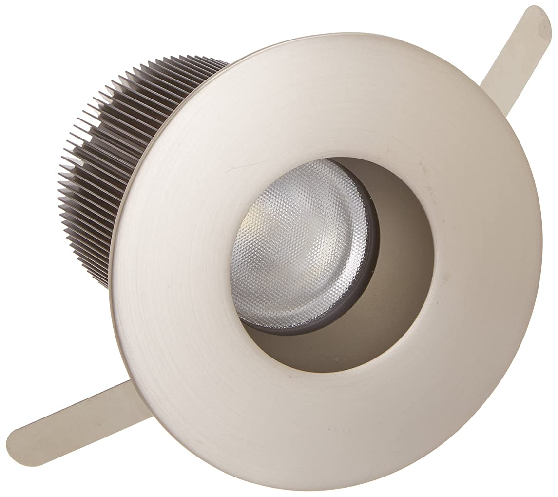 WAC Lighting HR-2LED-T209N-27BN Tesla - LED 2-Inch Shower Round Trim with 26-Degree Beam Angle and Warm Light 2700K