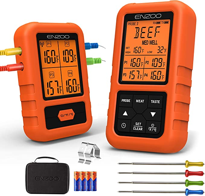 Cadence ENZOO Wireless Meat Thermometer - Excellent Quality-per Price Ratio