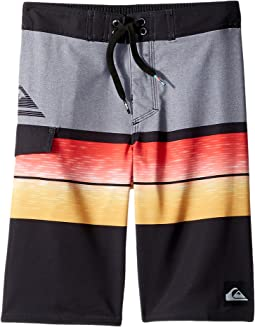 Quiksilver Kids - Slab Logo Vee Boardshorts (Big Kids)