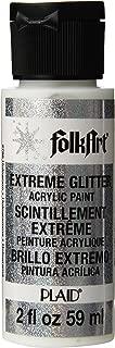 FolkArt Extreme Glitter Acrylic Paint in Assorted Colors (2 oz), 2796, Hologram (XGLT-2796)