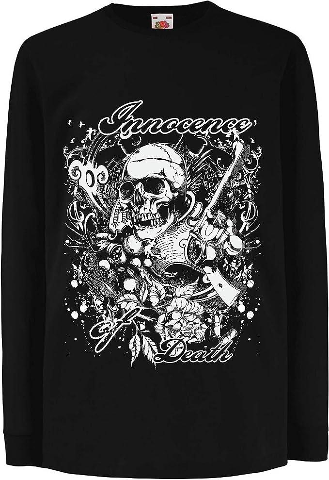 lepni.me Camiseta para Niño/Niña Inocencia de la Muerte ...