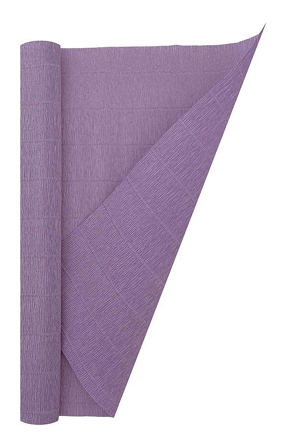 Crepe Paper Roll, Premium Italian Heavy 180 g, 13.3 sqft, Violet