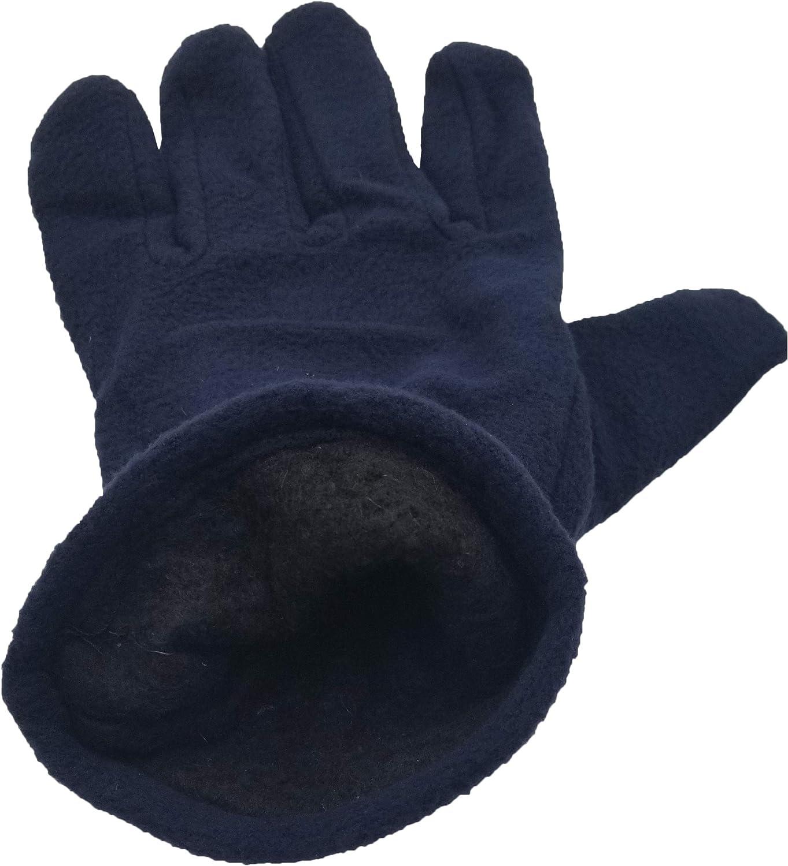 12 Pairs of Winter Fleece Gloves, Soft Warm Cozy Sports Glove, Mens Womens Kids