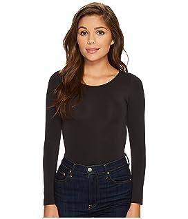 Opaque Long Sleeve Bodysuit