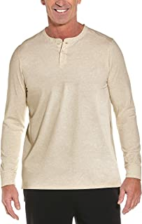 Coolibar UPF 50+ Men's Long Sleeve Mojave Henley - Sun...
