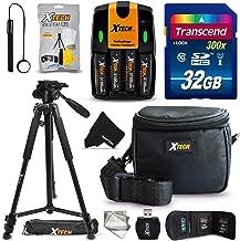Ultimate 32GB Accessory Kit for Nikon Coolpix B500, L340, L840, L830, L820, L810, L620, L610, L330, L320, L310, L32, L31, L30, L28, L26, L120, L110, L105, L100 Digital Cameras (10pc kit)
