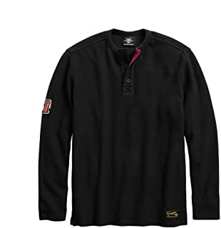 Men's #1 Genuine Classics Henley, Black
