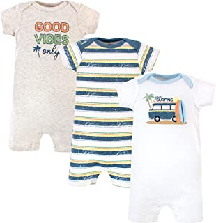 Newborn Baby Girls Boys Summer Outfits Mom/'s Mini Rainbow Rompers+Drawing Short Set Clothes