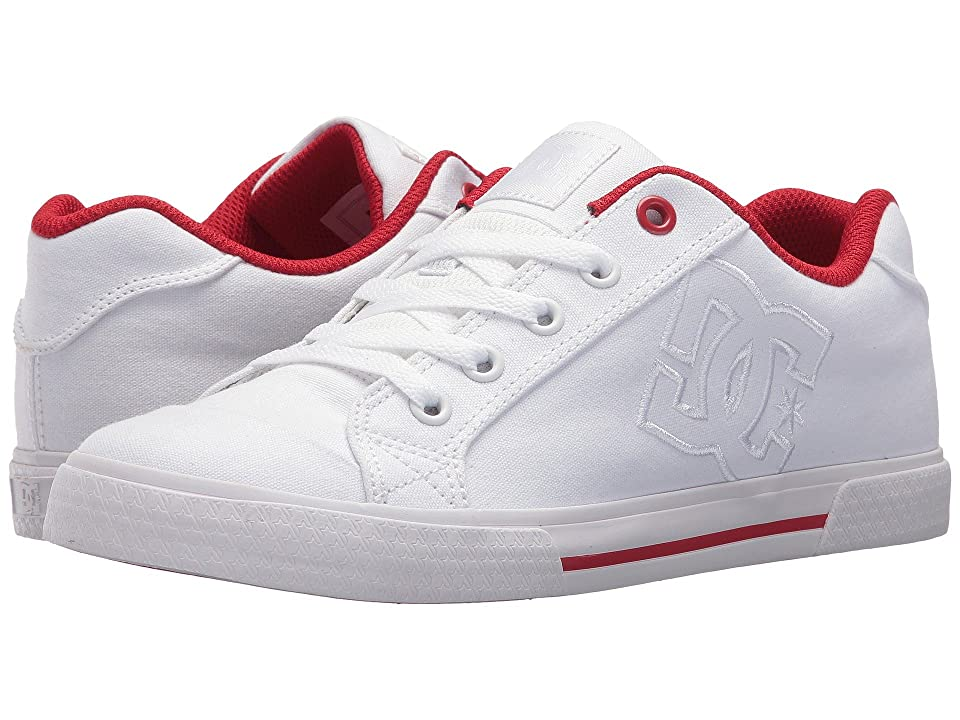 DC Chelsea TX (White/White/Red) Women
