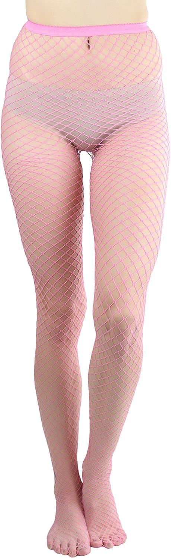ToBeInStyle Women's Mini Diamond Net Spandex Pantyhose