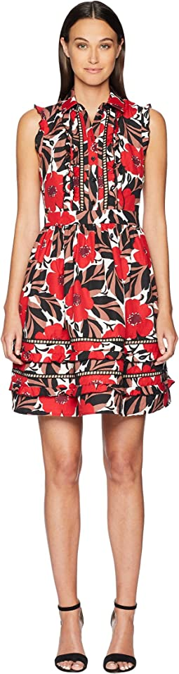 Poppy Field Shirtdress