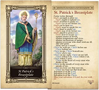 St. Patrick's Breastplate Laminated Holy Card - Pack of 25