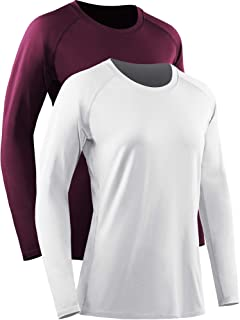 Neleus Women's Dry Fit Workout Running Shirts