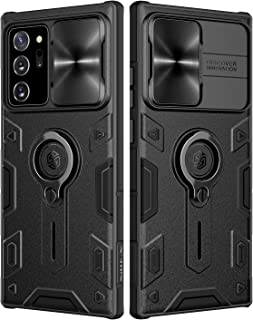 Note 20 Ultra Case, Nillkin Camshield Armor Case with Slide Camera Cover & Ring Kickstand, Impact Resistant Bumpers Shockp...