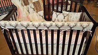 DBC Baby Bedding Co. Woodland Crib 3 PC Bedding Set - Skirt, Sheet, Blanket