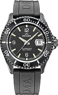 DELMA - 407015 - Reloj deportivo para hombre (analógico, automático, correa de caucho)