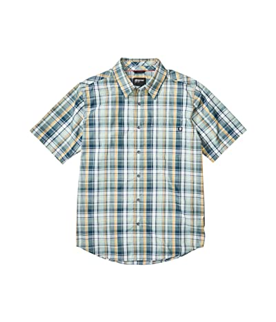 Marmot Lykken Short Sleeve Shirt (Crushed Mint) Men