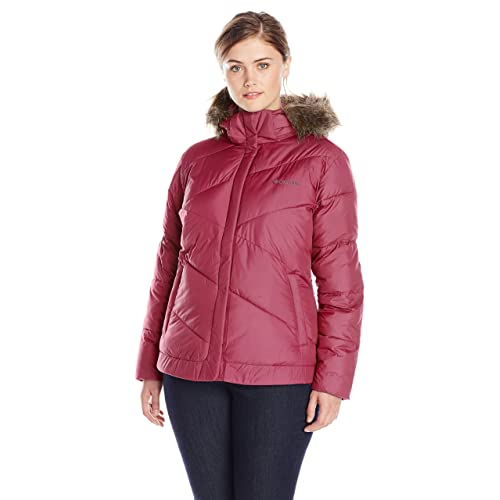 COLUMBIA Snow Eclipse Womens 1X Plus Size Purple Winter Parka//Jacket//Coat