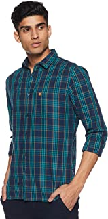 French Connection Men's CheckeredSlim Fit Casual Shirt