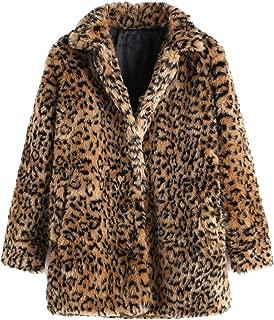 SweatyRocks 女式卡其色连帽蝙蝠袖人造毛皮开衫冬季外套