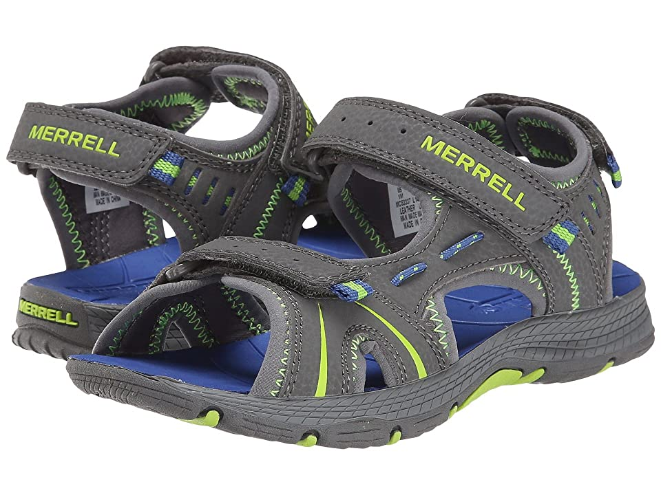 Merrell Kids Panther (Toddler/Little Kid) (Grey/Blue) Boys Shoes