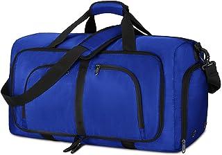 NEWHEY Borsone da Viaggio Pieghevole 40L 65L 80L Impermeabile Borsone Palestra Grande Borsa Sportiva Uomo Donna per Campeg...