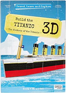 Sassi Junior Travel and Explore The Build The Titanic Puzzle - 6 Years and Above