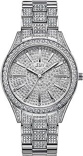 JBW Womens Quartz Watch, Analog Display and Stainless Steel Strap