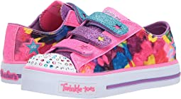 SKECHERS KIDS - Twinkle Toes: Shuffles 10846L Lights (Little Kid/Big Kid)