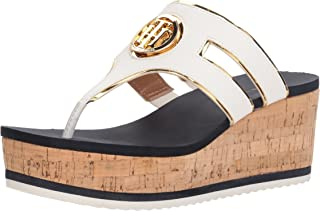 54d780101678 Amazon.com  Tommy Hilfiger - Platforms   Wedges   Sandals  Clothing ...