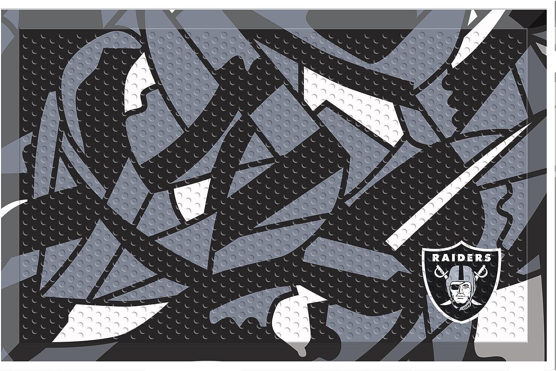 Gifts Product FANMATS NFL Oakland Raiders Raidersscraper Team Mat NFL-Oakland