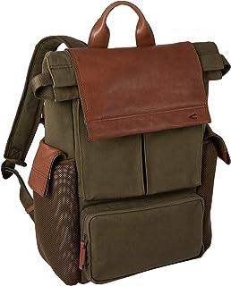 camel active, Mochila para hombre, mochila de ocio, mochila de negocios, mochila diaria, mochila Napoli, caqui