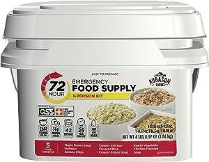 Augason Farms 72-Hour 1-Person Emergency Food Supply Kit 4 lbs 1 oz