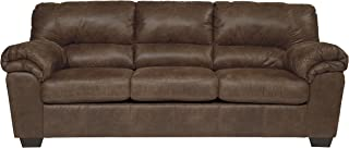 Ashley Furniture Signature Design - Bladen Contemporary Plush Upholstered Sofa - Coffee Brown
