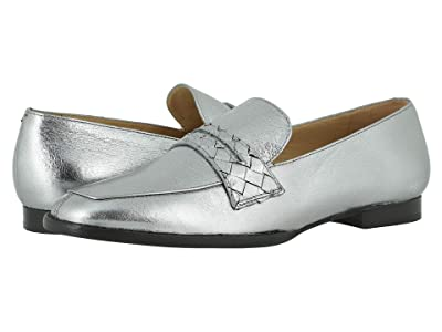Johnston & Murphy Suzanna (Silver Metallic Suede) Women