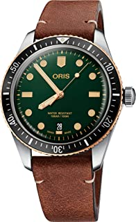 Oris Divers Sixty-Five Automatic Green Dial Men's Watch 01 733 7707 4357-07 5 20 45