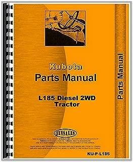 Kubota L185 2WD Tractor Parts Manual Catalog