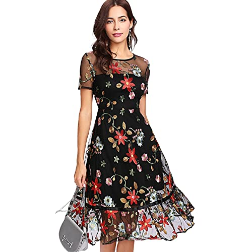 Embroidered Dresses: Amazon.com