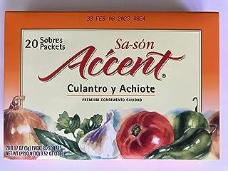 Accent Sason - Coriander & Annatto Seasoning - 3.52 oz (20 packets per Box)