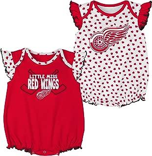 Outerstuff NHL Newborn & Infant Hockey Hearts 2Piece Onesie Set
